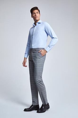 Ds Damat Slim Fit Gri Pantolon - 8682060379313 | D'S Damat