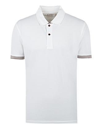 Ds Damat Regular Fit Beyaz Düz T-shirt - 8681494369204 | D'S Damat