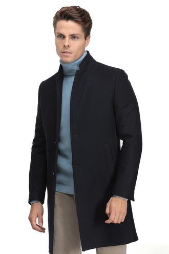 Twn Slim Fit Lacivert Palto/pardesu - 8681779632153 | D'S Damat