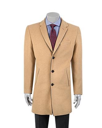 Twn Slim Fit Camel Palto - 8682060015600 | D'S Damat