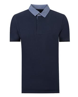Twn Slim Fit Lacivert T-Shirt - 8681778055731   D'S Damat