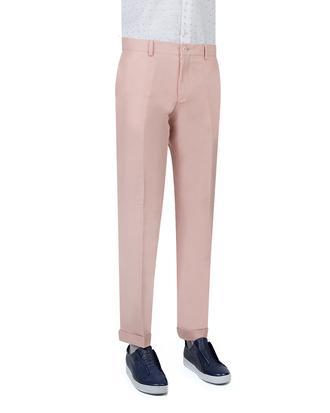 Twn Pembe Düz Kumaş Pantolon - 8681778089729 | D'S Damat