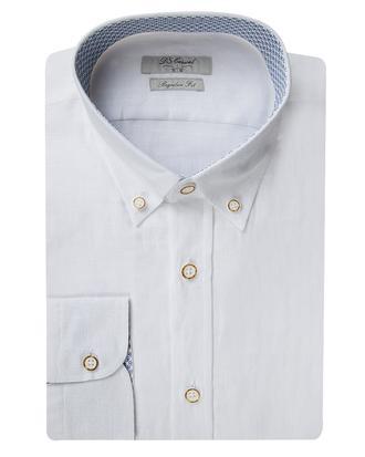 Ds Damat Regular Fit Beyaz Düz Gömlek - 8681778303481 | D'S Damat