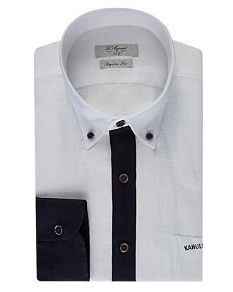 Ds Damat Regular Fit Beyaz Gömlek - 8681778312360 | D'S Damat
