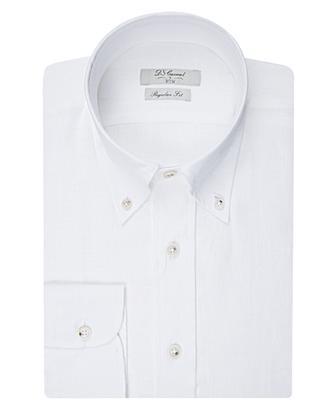 Ds Damat Regular Fit Beyaz Düz Gömlek - 8681778306383 | D'S Damat