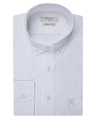 Ds Damat Regular Fit Beyaz Ekoseli Gömlek - 8681494940861 | D'S Damat