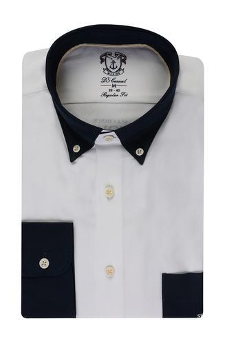 Ds Damat Regular Fit Beyaz Gömlek - 8681494930619   D'S Damat