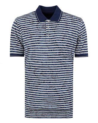 Ds Damat Regular Fit Lacivert Baskılı T-shirt - 8681778040461   D'S Damat