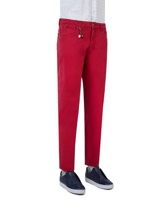 Ds Damat Slim Fit Kırmızı Chino Pantolon - 8681778028667 | D'S Damat