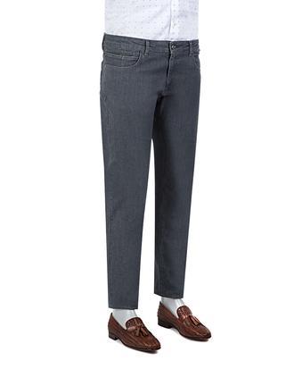 Ds Damat Slim Fit Gri Denim Pantolon - 8681778069912   D'S Damat