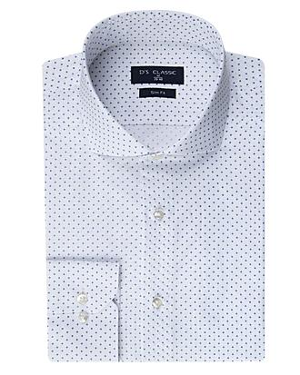 Ds Damat Slim Fit Beyaz Gömlek - 8681778028933 | D'S Damat