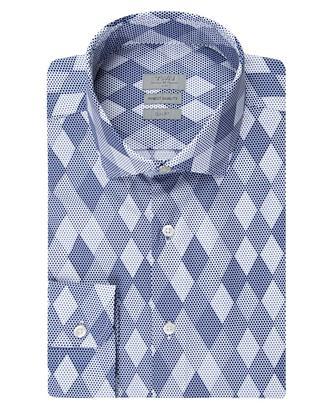 Twn Slim Fit Lacivert Baskılı Gömlek - 8681778701782   D'S Damat