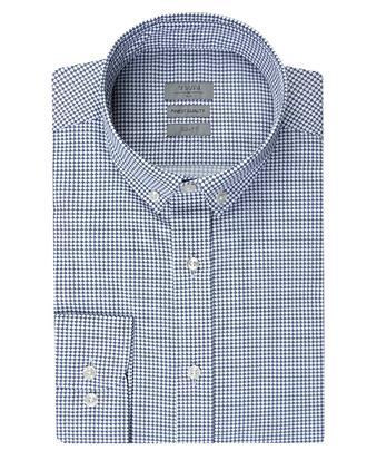 Twn Slim Fit Beyaz Baskılı Gömlek - 8681778347430 | D'S Damat