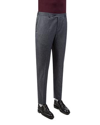 Twn Slim Fit Lacivert Armürlü Kumaş Pantolon - 8681778994023 | D'S Damat