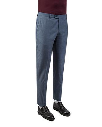 Twn Slim Fit Mavi Çizgili Kumaş Pantolon - 8681778994290   D'S Damat