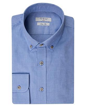 Ds Damat Slim Fit Mavi Oxford Gömlek - 8681778697443   D'S Damat