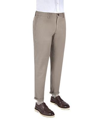 Ds Damat Slim Fit Gri Düz Chino Pantolon - 8681778823286 | D'S Damat