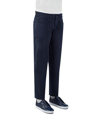 Ds Damat Slim Fit Lacivert Düz Chino Pantolon - 8681778839904   D'S Damat