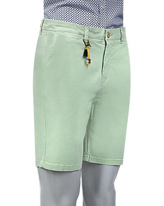 Twn Slim Fit Yeşil Düz Şort - 8681779555636 | D'S Damat