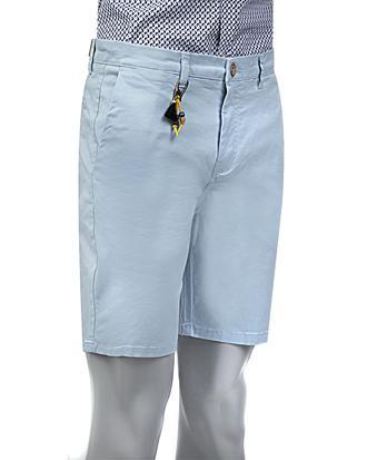Twn Slim Fit Mavi Düz Şort - 8681779556374 | D'S Damat