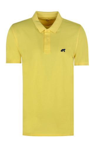 Twn Slim Fit Sarı Düz T-Shirt - 8682060349941 | D'S Damat