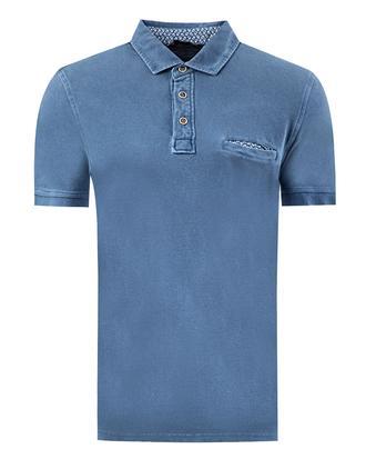 Twn Slim Fit İndigo T-shirt - 8681779294771   D'S Damat