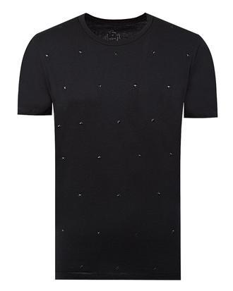 Twn Slim Fit Siyah T-shirt - 8681779295563 | D'S Damat