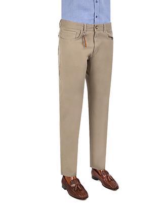 Twn Slim Fit Bej Düz Chino Pantolon - 8681779295716 | D'S Damat