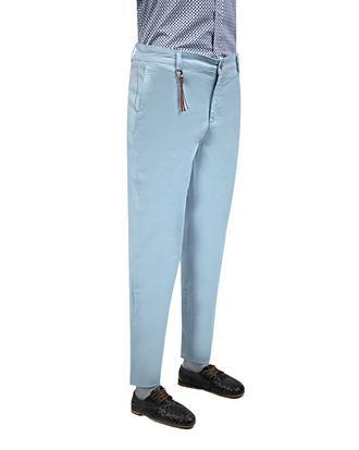 Twn Slim Fit Mavi Desenli Chino Pantolon - 8681779296027   D'S Damat