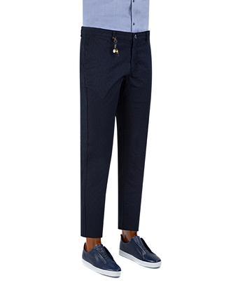 Twn Slim Fit Lacivert Chino Pantolon - 8681779337713 | D'S Damat