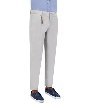 Twn Slim Fit Gri Düz Chino Pantolon - 8681779338062 | D'S Damat