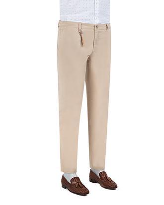 Twn Slim Fit Bej Düz Chino Pantolon - 8681779338000   D'S Damat