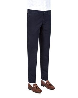 Twn Slim Fit Lacivert Düz Chino Pantolon - 8681779296225 | D'S Damat