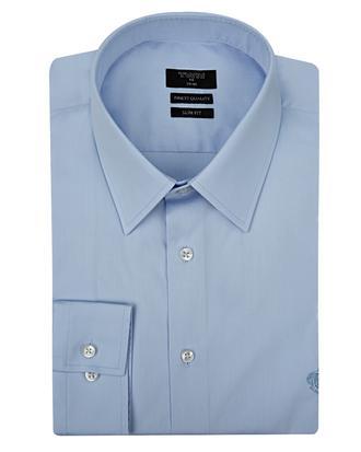 Twn Slim Fit Mavi Düz Gömlek - 8681779203179 | D'S Damat