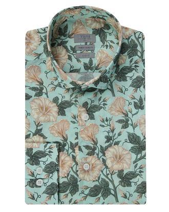 Twn Slim Fit Karma Renk Baskılı Gömlek - 8681779029960 | D'S Damat