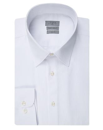 Twn Slim Fit Beyaz Armürlü Gömlek - 8682060350442 | D'S Damat