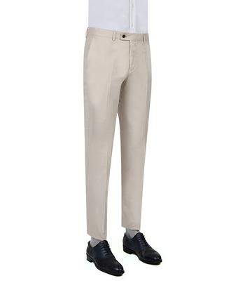 Twn Slim Fit Bej Kumaş Pantolon - 8681778903384 | D'S Damat