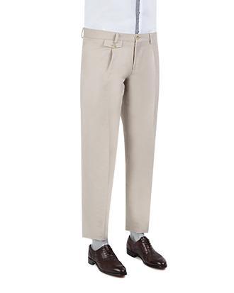 Twn Slim Fit Bej Kumaş Pantolon - 8681779338987 | D'S Damat