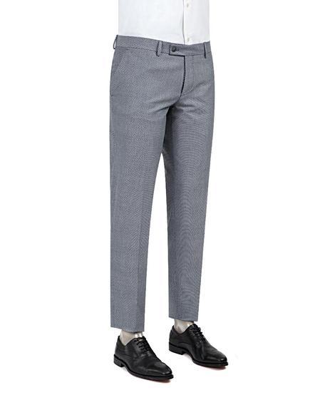 Twn Slim Fit Siyah Kumaş Pantolon - 8681778944745   D'S Damat