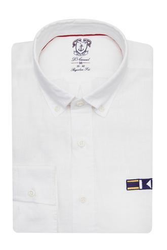 Ds Damat Regular Fit Beyaz Gömlek - 8681779140368 | D'S Damat