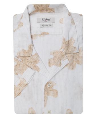 Ds Damat Regular Fit Beyaz Baskılı Gömlek - 8681778976005 | D'S Damat
