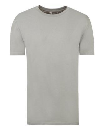 Ds Damat Regular Fit Gri Düz T-shirt - 8681779305859 | D'S Damat