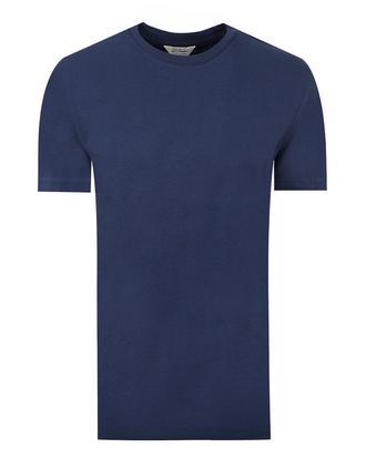 Ds Damat Regular Fit Lacivert Düz T-shirt - 8681779305743 | D'S Damat