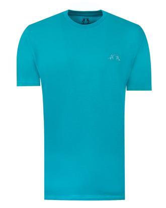 Ds Damat Regular Fit Turkuaz T-shirt - 8681779306665 | D'S Damat