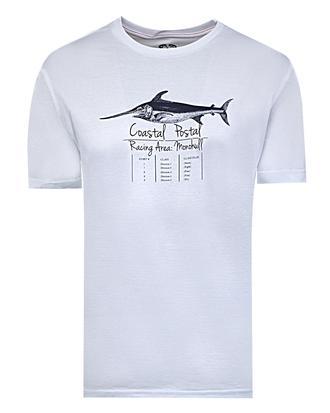 Ds Damat Regular Fit Beyaz Baskılı T-shirt - 8681779306825 | D'S Damat
