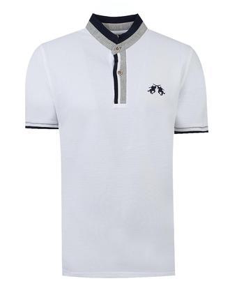Ds Damat Regular Fit Beyaz T-shirt - 8681779307044 | D'S Damat