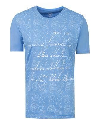 Ds Damat Regular Fit Mavi T-shirt - 8681779115380 | D'S Damat