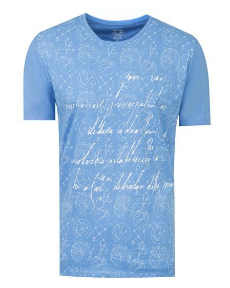 Ds Damat Regular Fit Mavi T-shirt - 8681779115380   D'S Damat