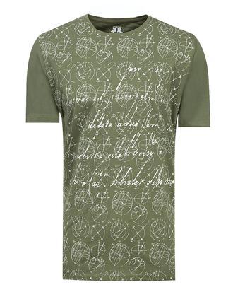 Ds Damat Regular Fit Haki T-shirt - 8681779115502 | D'S Damat