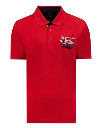 Ds Damat Regular Fit Kırmızı T-shirt - 8681779340393 | D'S Damat